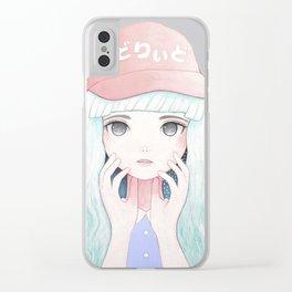 Zazi-White Clear iPhone Case