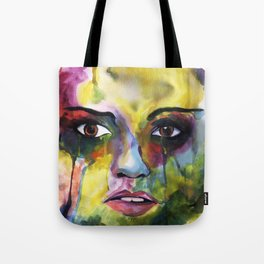 Feelings Expression Tote Bag