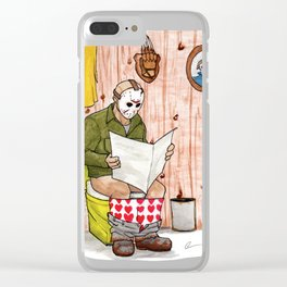 Saturday the 14th Clear iPhone Case