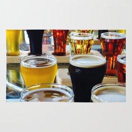 Craft Beers Rug