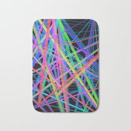Colorful Rainbow Prism Bath Mat
