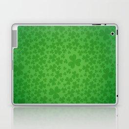 irish, ireland, shamrock, irish gifts women, luck of the irish, irish gift, three leaf clover Laptop & iPad Skin