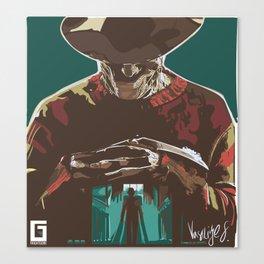Freddy the Boogieman Canvas Print