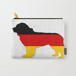 German Flag - Newfoundland Dog Carry-All Pouch