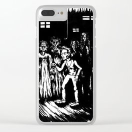 A step into Oblivion Clear iPhone Case
