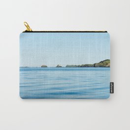 Island on the Horizon Photography Print Carry-All Pouch