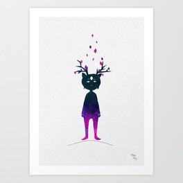 Dream Deer Art Print