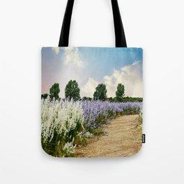 Coloured Landscape Tote Bag