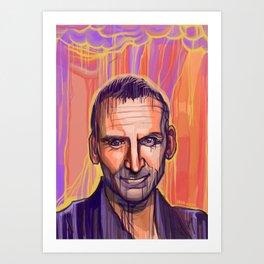 Ninth Doctor Who Art Print