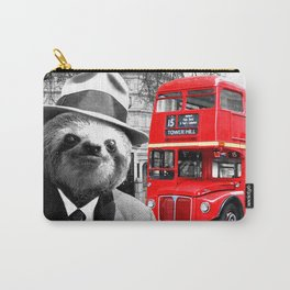 Sloth in London Carry-All Pouch