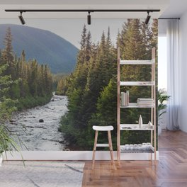 Mountain River Wall Mural