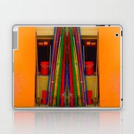 BAMBOO POLE Laptop & iPad Skin