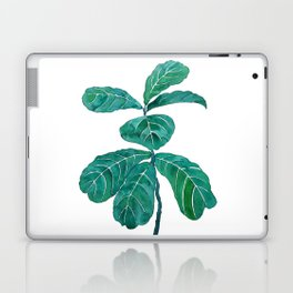 fiddle leaf fig watercolor Laptop & iPad Skin