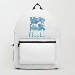 Pisces - water sign Backpack