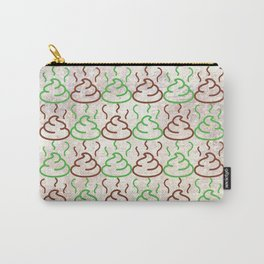 Poop Pattern Carry-All Pouch
