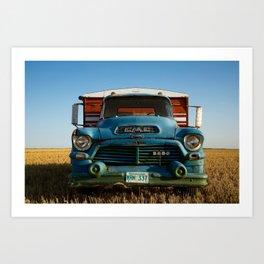 G.M.C. Grain Truck Art Print