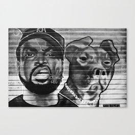 Street Talk Canvas Print