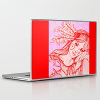 belle Laptop & iPad Skins featuring Belle by thebutterflycollector