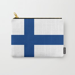Flag of Finland - High Quality Image Carry-All Pouch