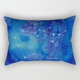 Constellation Sagittarius  Rectangular Pillow