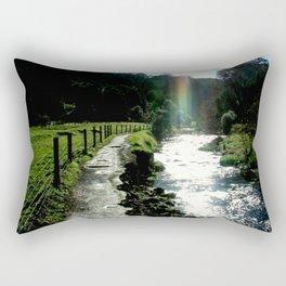 No pot of Gold but a brilliant Rainbow Rectangular Pillow
