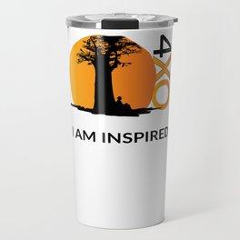 I AM INSPIRED Travel Mug