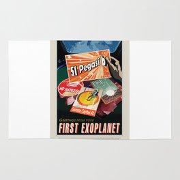 51 Pegasi b - NASA Space Travel Poster Rug