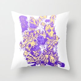 Springtrap (Colored version) Throw Pillow