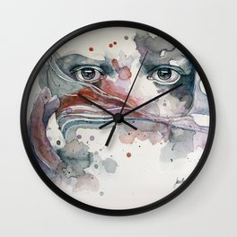 A sealed thought Wall Clock