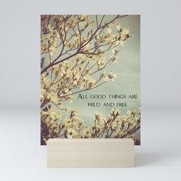 Wild & Free Mini Art Print