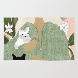 Cat Mom Rug