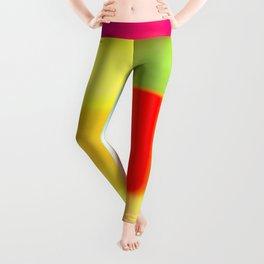 Colored blur background 7 Leggings