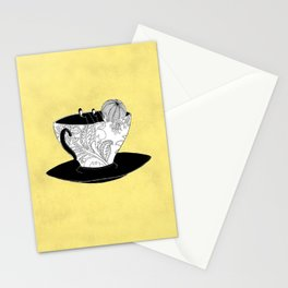 The Tea Drinker Stationery Cards