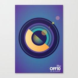 OFF10 - Odense International Film Festival Canvas Print