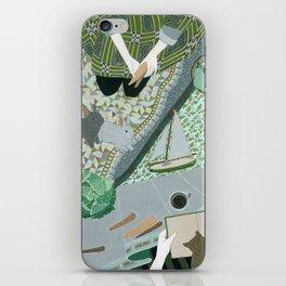 Carrot picnic iPhone Skin