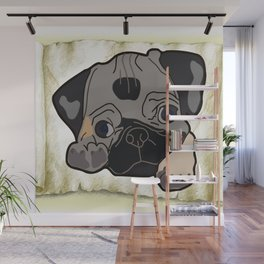 beautiful dog Wall Mural
