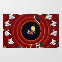 Simpsons Pop Art Rug