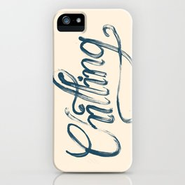 Just Chilling iPhone Case