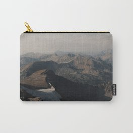 Mountain Layers in the Wyoming Wilderness Carry-All Pouch