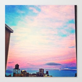Tie Dye in the Sky 5 Canvas Print