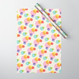 Rainbow Bubbles Wrapping Paper