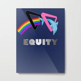 Equity Metal Print