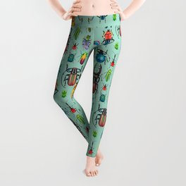 Beetle Collection Leggings
