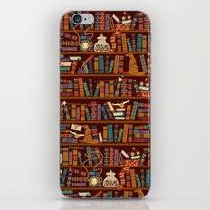 Bookshelf iPhone & iPod Skin