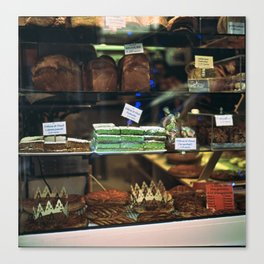 French Bakery  Canvas Print