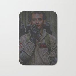 Venkman: Ghostbusters Screenplay Print Bath Mat