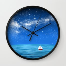 Smooth Sailin Wall Clock