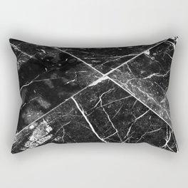 Black Granite Tiles Rectangular Pillow