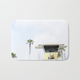 San Diego Beach Lifeguard Hut Bath Mat