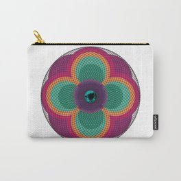Flowered Eye  Carry-All Pouch